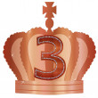 Stock Vector: Crown3