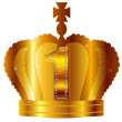 Crown1 — Stock Vector