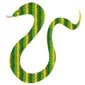 Snake illustration — Wektor stockowy