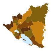 Nicaragua — Stock Vector