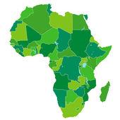 Africa map — Stock Vector