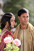 Beautiful Indian Couple — Stockfoto