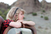 Pretty Blonde Girl — Stock Photo