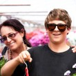Mother and Son Shopping — Stock Photo