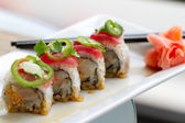 Sushi Tuna Roll — Stock Photo