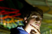 Подросток мальчик — Стоковое фото