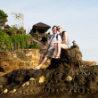Tourist in Bali - Stock Photo