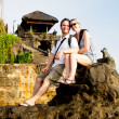 Tourist in Bali — Stock Photo