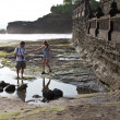 Tourist in Bali - Photo