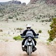 Stock Photo: Motorcycle ride