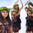 Stock Photo: Pretty Polynesian Girl