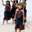 Hula Dancers Welcome — Stock Photo