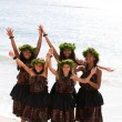 Hawaiian Hula Dancers on Maui — Stock Photo #11307763