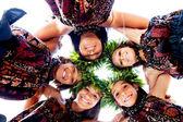Filles concernant avec aloha spirit — Photo
