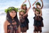 Pretty Polynesian Girl — Stock Photo
