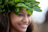 BeautifulPolynesian Girl — Stock Photo