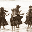 Hula Girls — Stock Photo