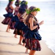Maui Dancers — Stock Photo