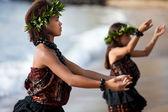 Polynesian Dancers — Stock Photo