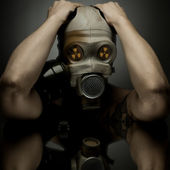 Gas-mask — Stock Photo