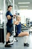 спортивная пара — Стоковое фото