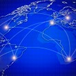 Global Network — Foto de Stock