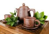 Serviço de chá — Fotografia Stock