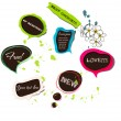 Vector bubbles for speech — Imagen vectorial