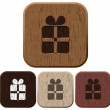 Set of giftbox icons. — Imagen vectorial