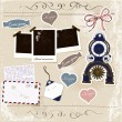 Royalty-Free Stock Vector Image: Scrapbook elements set.