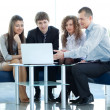 Business team at the meeting — Stock Photo #12170961