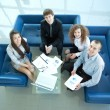 Stock Photo: Working business group