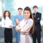 Female Business leader — Stock Photo