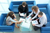 Working business group — Foto Stock