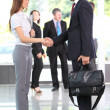 Business shaking hands — Stock Photo #12186492