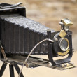 Antique Old photo Camera — Stock fotografie