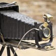 Antique Old photo Camera — Stok fotoğraf