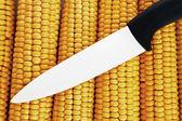 Керамический нож — Стоковое фото