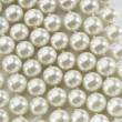 Foto Stock: String of white pearls