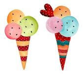 Ice-cream cones — Photo