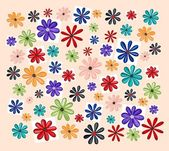 Aquarellen floral achtergrond — Stok fotoğraf