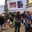 Animal welfare demonstration — Foto Stock