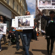 Foto de Stock  : Animal welfare demonstration