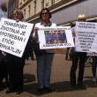 Animal welfare demonstration — Stockfoto