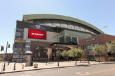 A Sunny Chase Field, downtown Phoenix, Arizona — Stock Photo