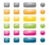 Buttons — Vector de stock