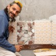 Tiler at work — Stock Photo #10764007