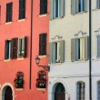 Stock Photo: Colorful ItaliFacade