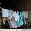 Laundry in rural building — Stock Photo #10913660
