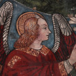 Stock Photo: Blessing angel fresco